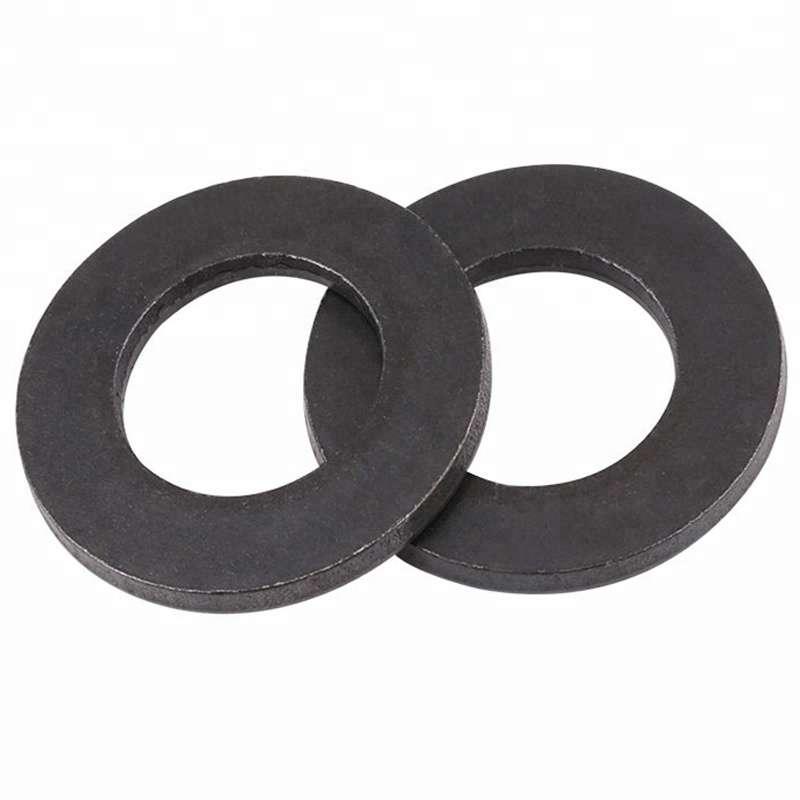 Шайба плоская DIN 125 оксид черный цинк